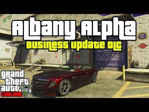 "GTA 5 Online DLC: ""Albany Alpha"" Car Showcase Customized![GTA V]"