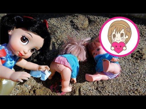 ラブリーおねえさん♯18 メルちゃん おもちゃ 白雪姫のいたずら 公園あそび メルちゃんマン お砂場 滑り台 うんち