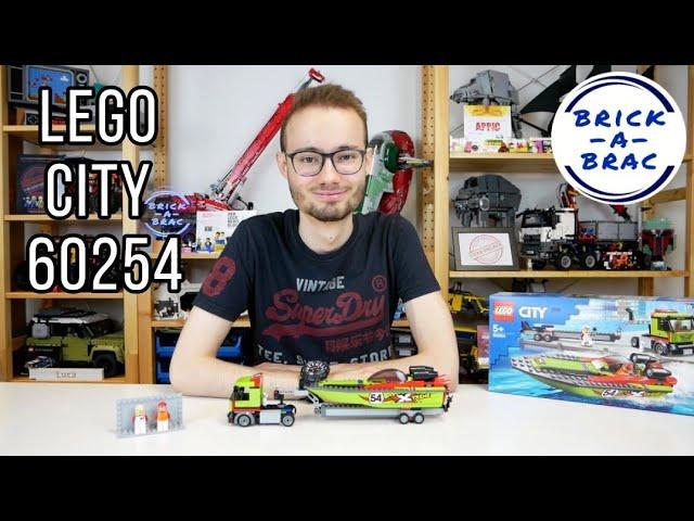 LEGO® City 60254 Rennboottransporter im Review!