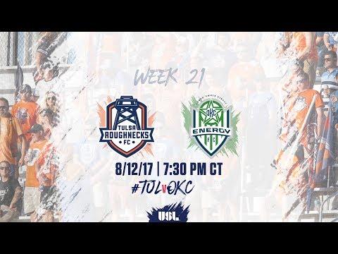 USL LIVE - Tulsa Roughnecks FC vs OKC Energy FC 8/12/17