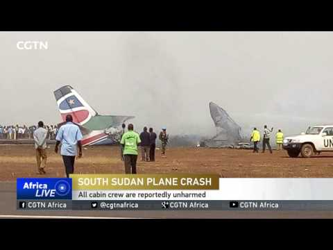 Passenger plane from Juba crash lands at Wau Airport