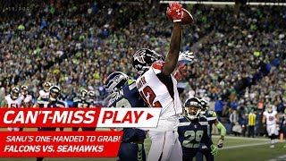 Trufant's INT & Julio Jones' Toe-Tap Grab Set Up Sanu's Unreal TD! | Can't-Miss Play | NFL Wk 11