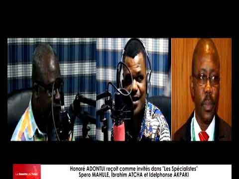 Honoré ADONTUI reçoit comme invités Spero MAHULE, Ibrahim ATCHA et Idelphonse AKPAKI