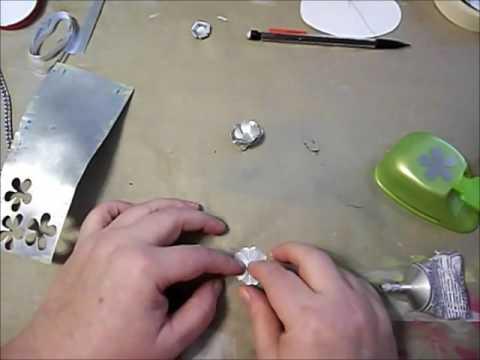 Making Metal Flowers