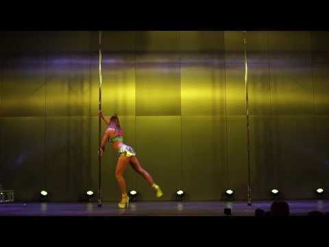 Magdalena Beng - 2nd place Exotic - Pole Dance Show