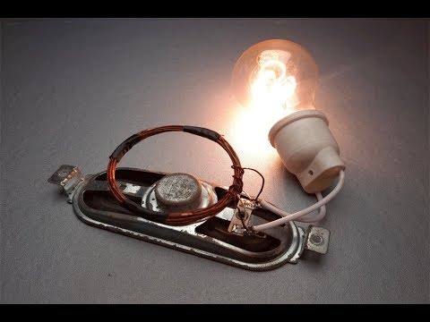 Free Energy Generator New Ideas 220V Electricity Generator 2019/ Science Experiment New At Home