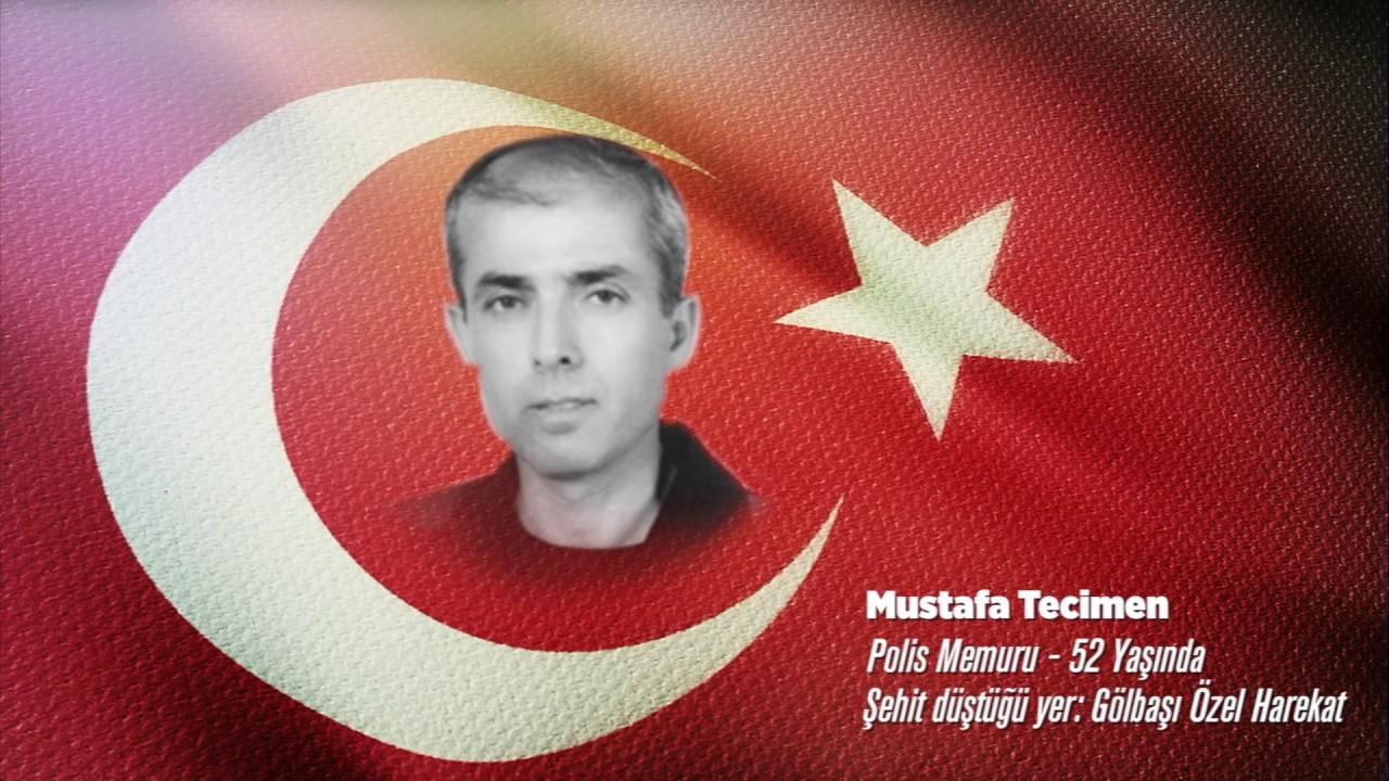 15 Temmuz Şehidi Mustafa Tecimen