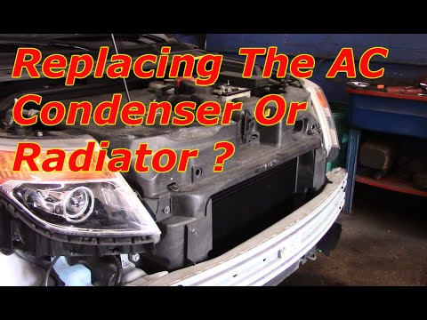How To Replace The Air Conditioner Condenser On A Ford