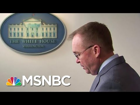 Mulvaney Tries To Walks Back That Trump Held Up Ukraine Aid For Political Reasons   Hardball   MSNBC