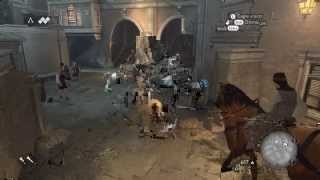 Assassins Creed Brotherhood with Nvidia GTX 550 Gameplay utra setting (Xbox 360/PS3/PC)