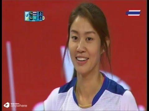 ไทย-คาซัคสถาน :วอลเลย์บอลหญิงเอเชี่ยนเกมส์ 2014: 27.9.2014