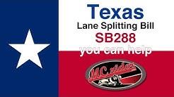 Texas SB 288 Lane Splitting Bill