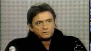 Johnny Cash interview and