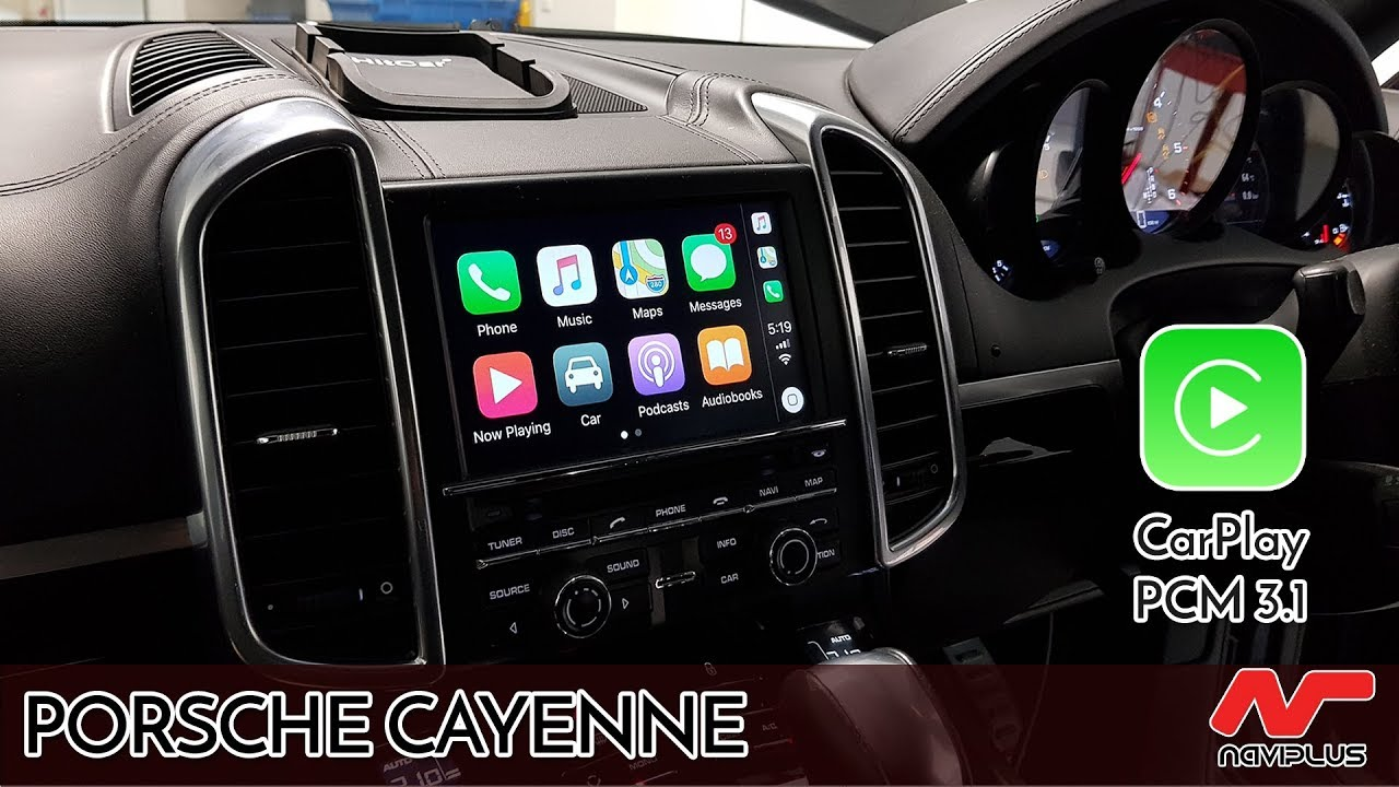 Apple CarPlay retrofit - on Porsche Cayenne's PCM 3 1 Audio