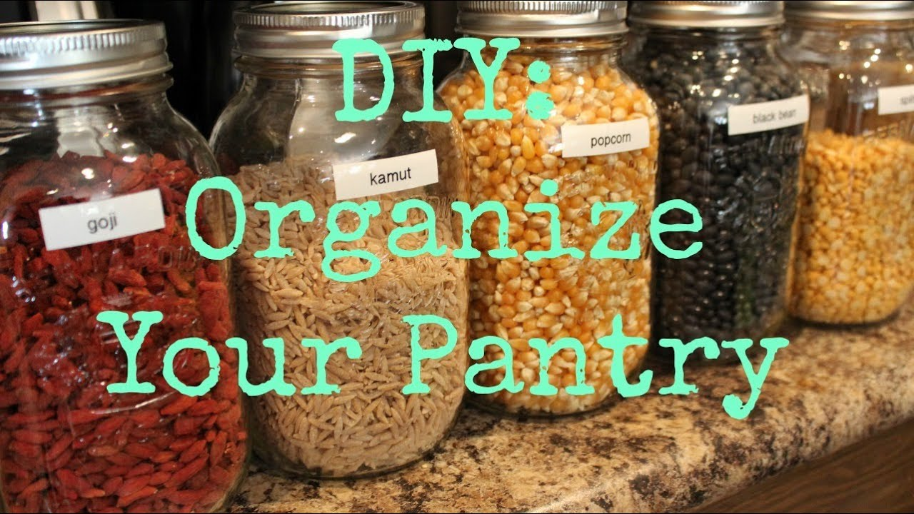 How To: Organize Your Pantry ♡ - YouTube