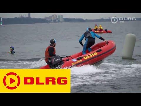 Europameisterschaft der Schlauchboot-Retter