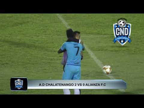 AD CHALATENANGO 2 VS 0 ALIANZA F.C