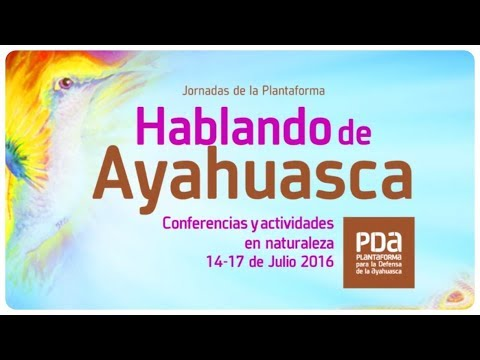 Ayahuasca, a long term study - Manuel Villaescusa / Conferencia PDA