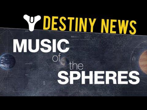 Destiny - Music Of The Spheres - Soundtrack, Planets, & Destiny's Storyline