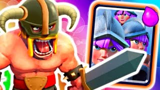 OWN W/ 3 MUSKIES & EBARBS! - Clash Royale