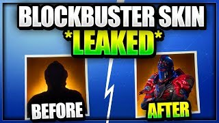 *NEW LEAKED* BLOCKBUSTER SKIN REWARD REVEALED In Fortnite Battle Royale (WEEK 6 Challenges)