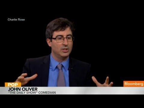 John Oliver on Standing in for Jon Stewart