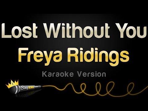 Freya Ridings - Lost Without You (Karaoke Version)