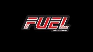 Honda CB500X Fuel Exhausts F1R Race Black Stainless Round Exhaust - Loud - Moto GP