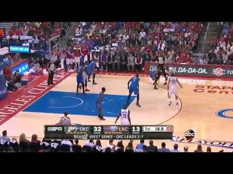 Los Angeles Clippers' 22 point comeback vs Thunder (2014.05.11) (2014 WCSF GM4)