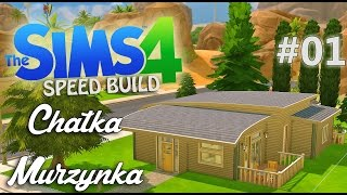 The Sims 4 -  SpeedBuild - Chatka Murzynka #01