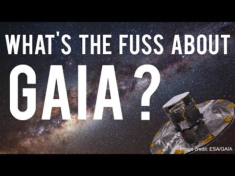 What's the fuss about the Gaia data release?