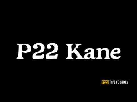 P22 Kane Font Download