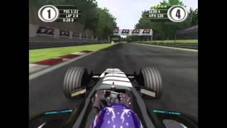 F1 2001 Xbox Alonso Minardi Monza Gameplay