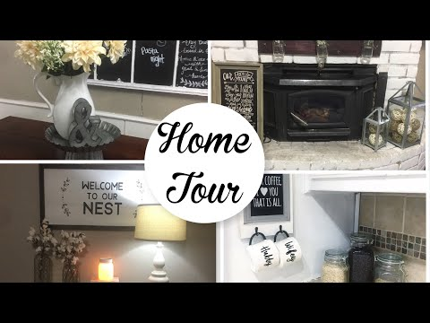 HOME TOUR 2018 // FARMHOUSE HOME TOUR