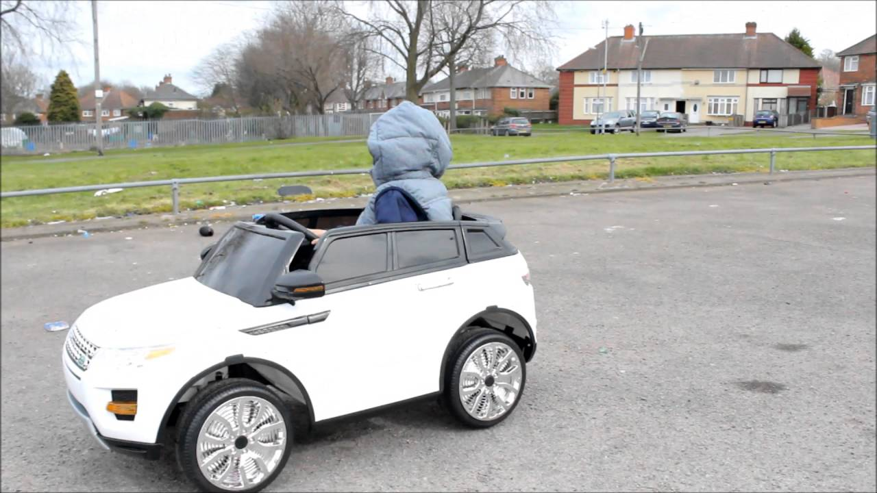 Kids Ride On Electric Car Range Rover Style Youtube