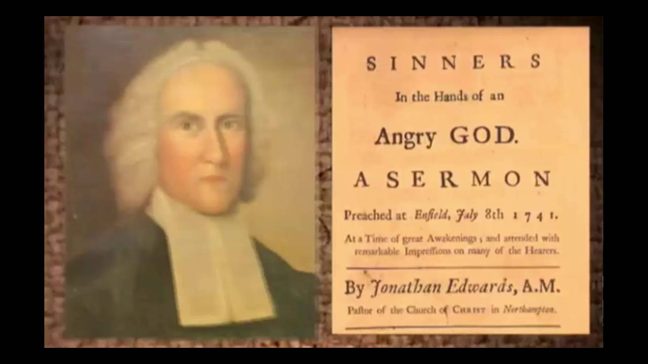 an analysis of the sermon from sinners in the hands of an angry god by jonathan edwards Jonathan edwards, sinners in the hands of an angry god (8 july  1741)  abstract: jonathan edwards's notorious 1741 sermon to the  as a  basis for the analysis that follows69 the doctrine comes next, which presented  the.