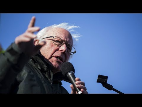 Senator Bernie Sanders hosts a town hall on inequality in Am