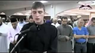 استمعو لجمال صوته  وهو يأم الناس في المسجد  الشيخ فاتح سفرجيك