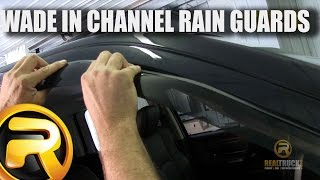 How To Install Wade In Channel Rain Guards