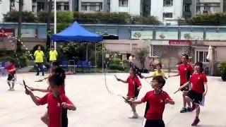2016-04-08 黃埔宣道小學 親子運動會之花式跳繩表演