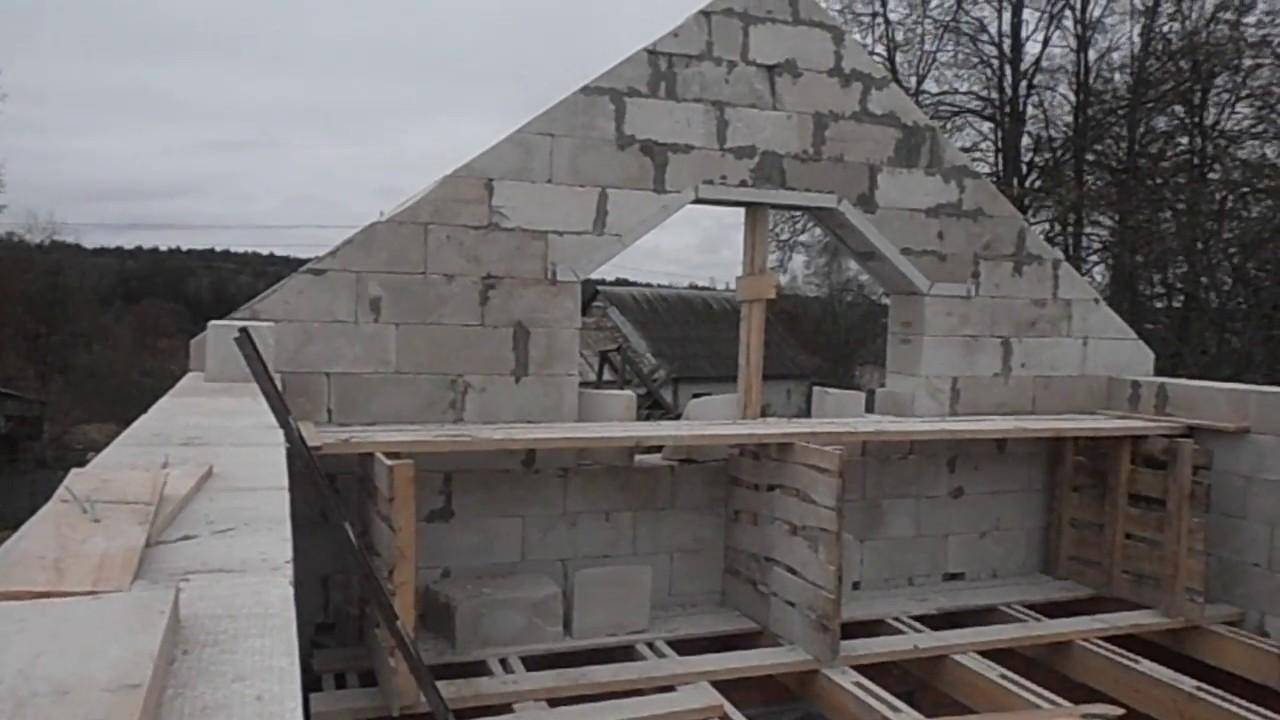 Построить дом пеноблок своими руками