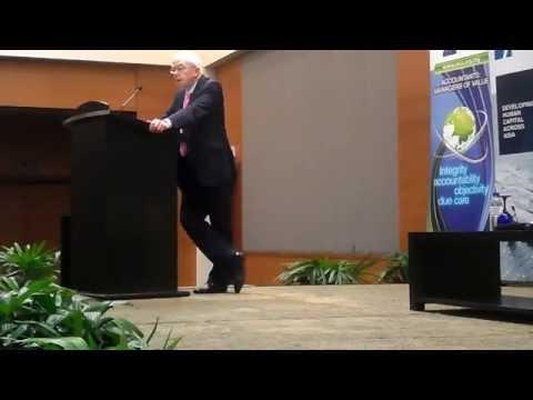Sharing Session by  Sir David Tweedie Part 1.