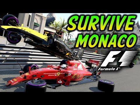 SURVIVE MONACO - Insane Hardcore Damage F1 Game