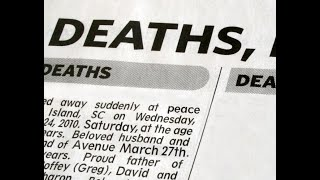 Live Out Your Obituary?