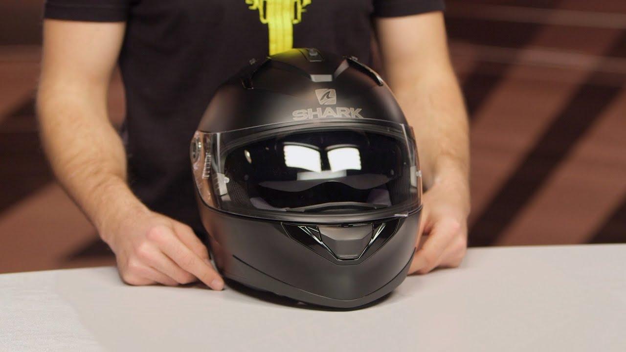 Shark Evo One Max Vision Motorcycle Helmet Pinlock Ready Visor Clear
