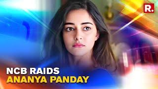 Video of NCB's Raid At Ananya Panday's Bandra Residence In Mumbai | NCB Summons Ananya Panday