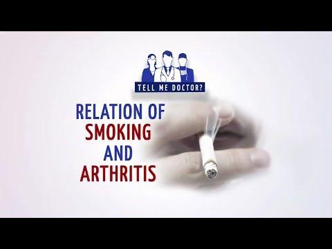 Relation between Smoking and Arthritis - Mahesh Kuwelker - Tell Me Doctor