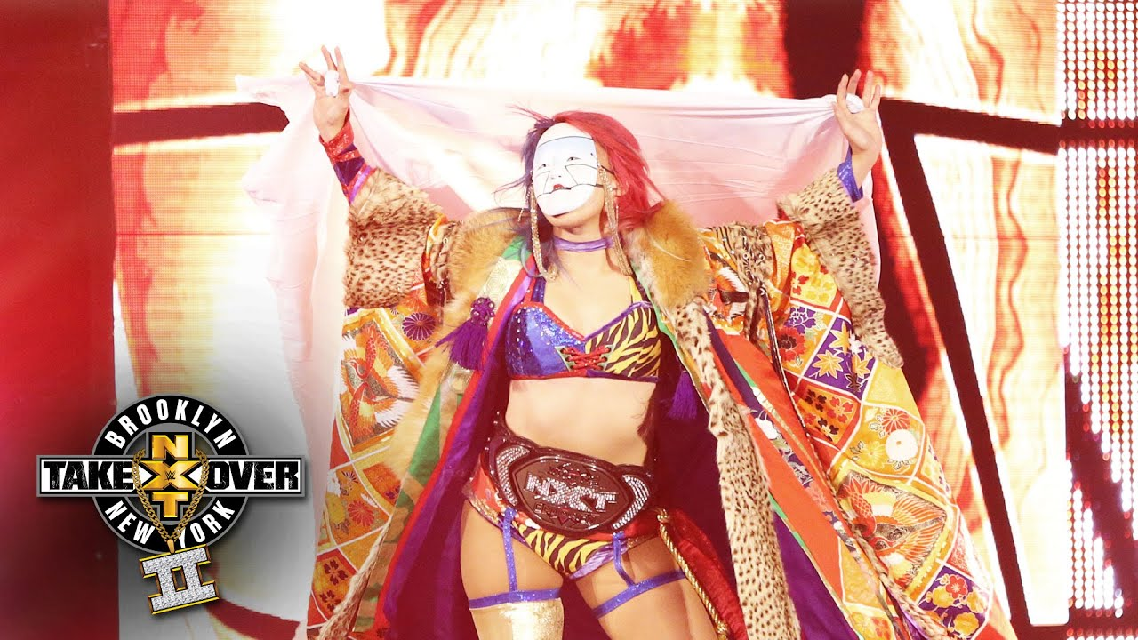 Asukas Entrance Nxt Takeover Brooklyn Ii Only On Wwe Network
