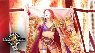 Asuka's entrance: NXT TakeOver: Brooklyn II, only on WWE Network