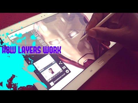 HOW LAYERS WORK IN ARTFLOW. MUST WATCH